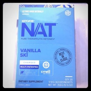 Keto Nat Vanilla Ski ketones